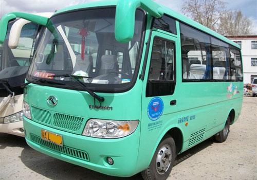 西藏租车  西藏拉萨金龙(宇通)空调中型客车,排量2.
